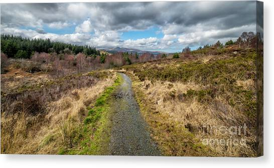 Moel Siabod Canvas Print - Mountain View by Adrian Evans