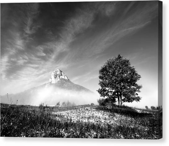 Mountain Zir Canvas Print