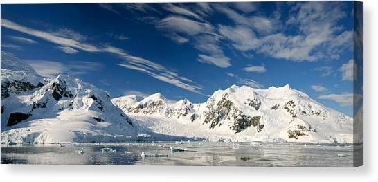 Glacier Bay Canvas Print - Mountains And Glaciers, Paradise Bay by Panoramic Images