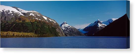 Glacier Bay Canvas Print - Mountains At The Seaside, Chugach by Panoramic Images