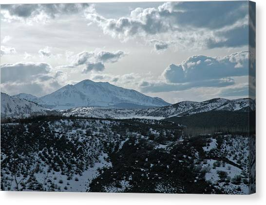 Mountains Of Wild Cat Ranch Canvas Print