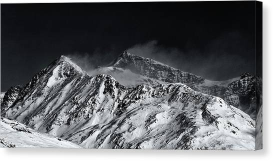 Mountainscape N. 5 Canvas Print