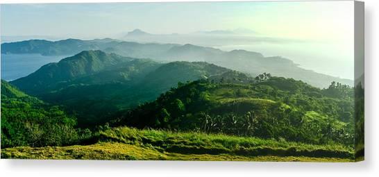 Mountaintop Panorama Canvas Print