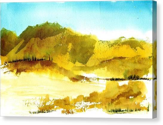 Mountan Desert Canvas Print