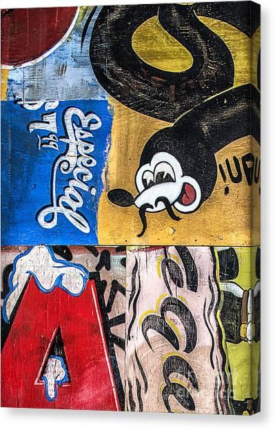 Moustache Especial Canvas Print