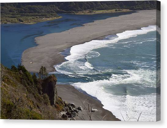 Mouth Of The Klamath Canvas Print