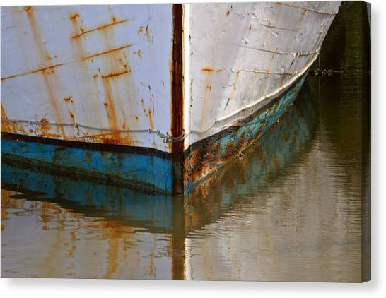 Mr. Bell's Boat Canvas Print