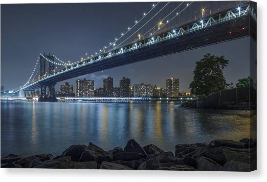 Mr Manhattan  Canvas Print