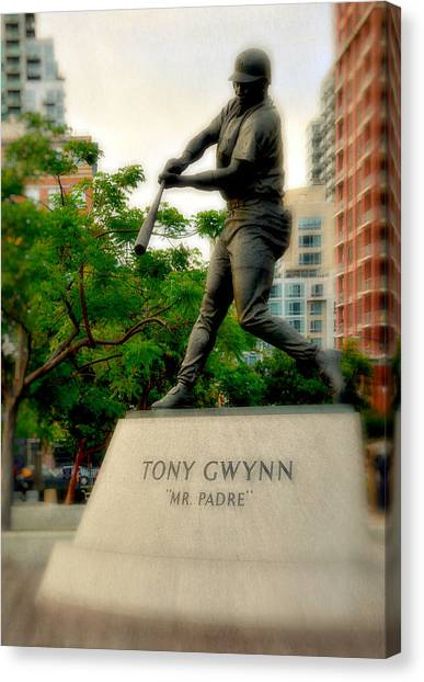 San Diego Padres Canvas Print - Mr. Padre- Hall Of Famer by See My  Photos