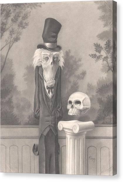 Mr. Skuggins Canvas Print