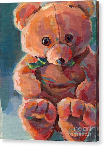 Salvation Army Canvas Print - Mr Snuggles by Kimberly Santini