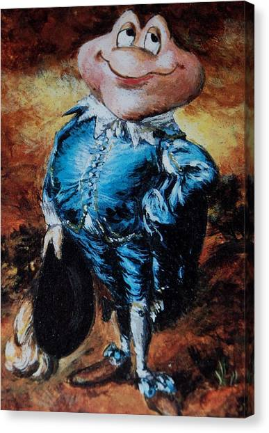 Mr Toad Canvas Print