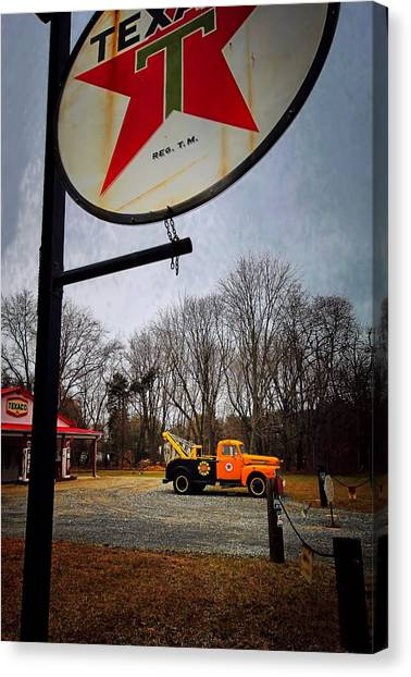Mr. Towed's Magical Ride Canvas Print