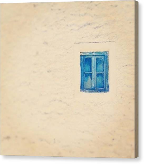 Greek Art Canvas Print - Ms Windows 10  Komni Edition  by George Komninos