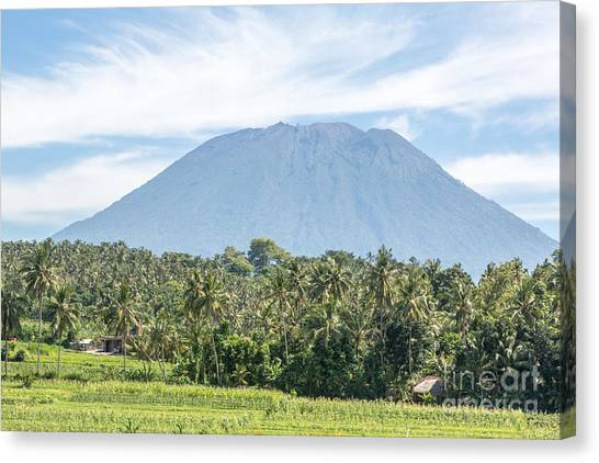 Mt Agung Canvas Print