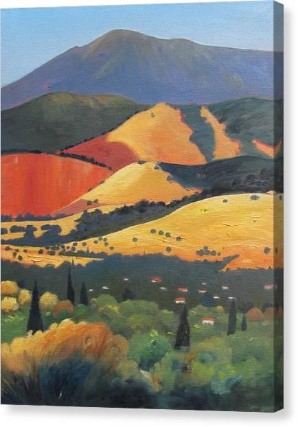 Mt. Diablo 1 Canvas Print