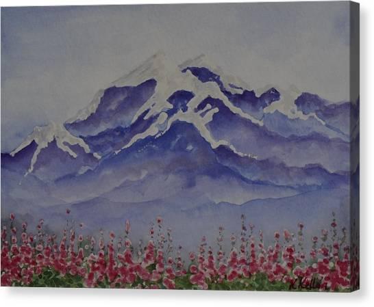 Mt. Drum Canvas Print by Kathleen Keller