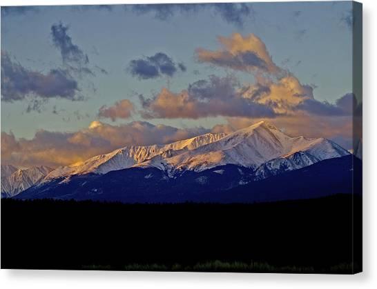 Mt Elbert Sunrise Canvas Print