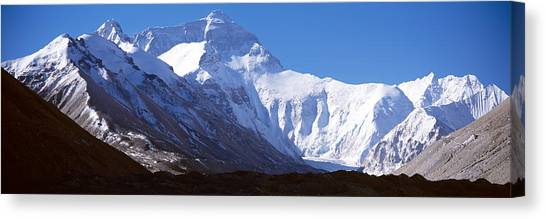 Mount Everest Canvas Print - Mt Everest, Nepal by Panoramic Images