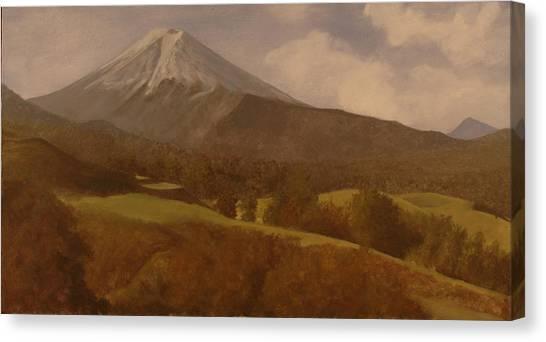 Mt. Fuji Canvas Print