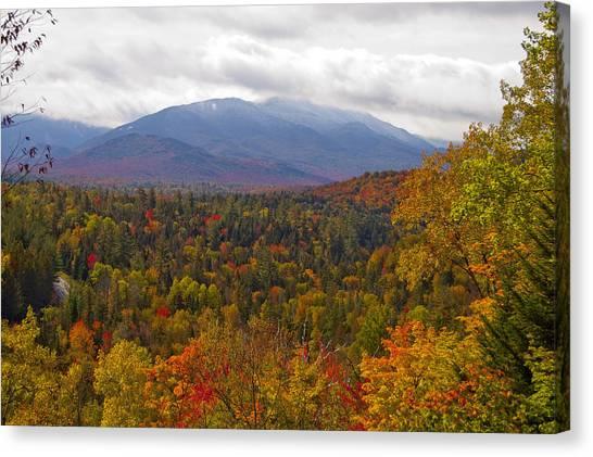 Mt Jo Wright Algonquin Canvas Print