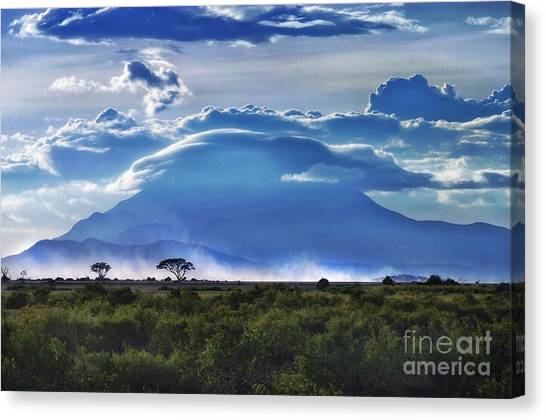 Mt Kilimanjaro Canvas Print