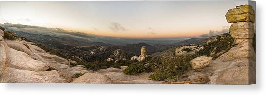Mt. Lemmon Windy Point Panorama Canvas Print
