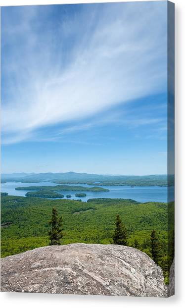 Mt Major View Canvas Print