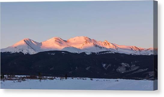 Mt. Massive Canvas Print - Mt. Massive by Aaron Spong