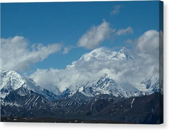 Mt Mckinnley Alaska Canvas Print