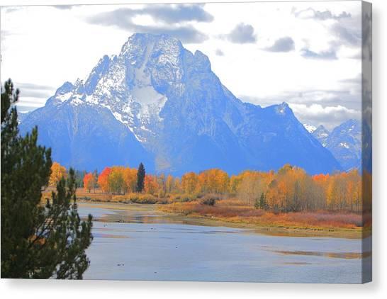 Mt. Moran Majesty Canvas Print