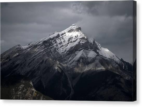 Mt. Norquay Canvas Print