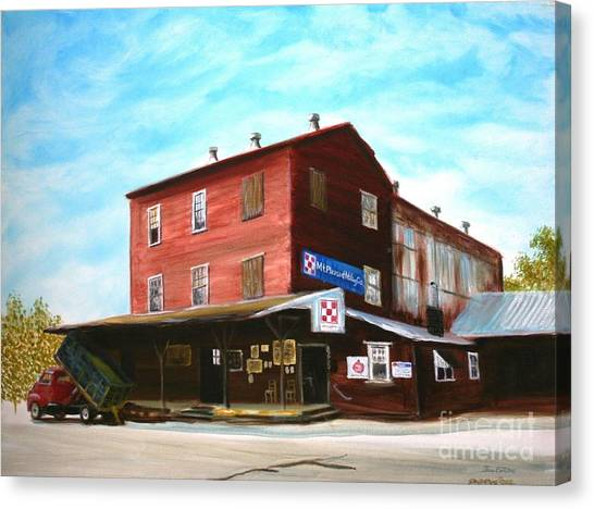 Mt. Pleasant Milling Company Canvas Print