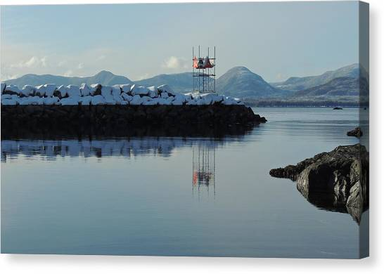 Mt. Point Winter Canvas Print