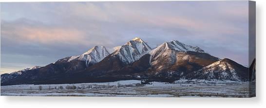 Mt. Princeton Panorama Canvas Print