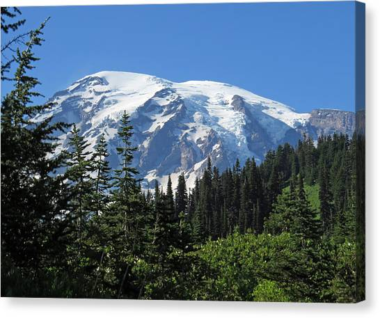 Washington's Mt. Rainier Canvas Print