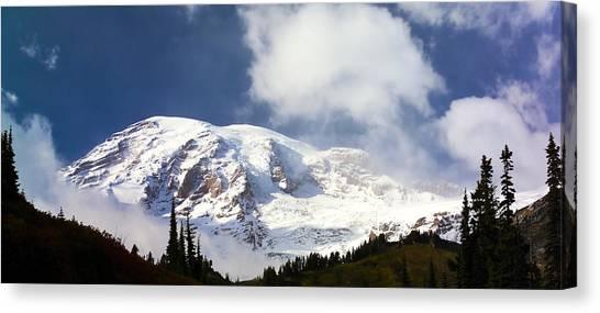 Mt Rainier II Canvas Print