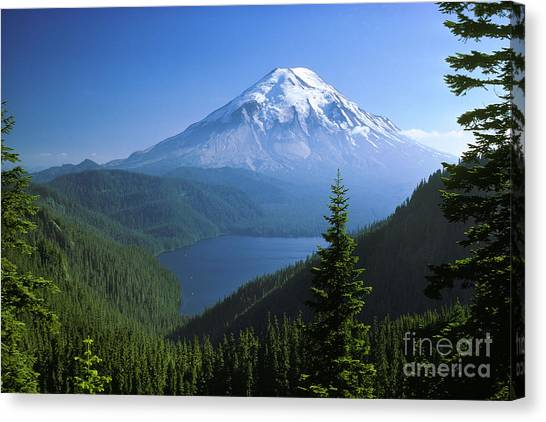 Mount St. Helens Canvas Print - Mt. Saint Helens by Thomas & Pat Leeson