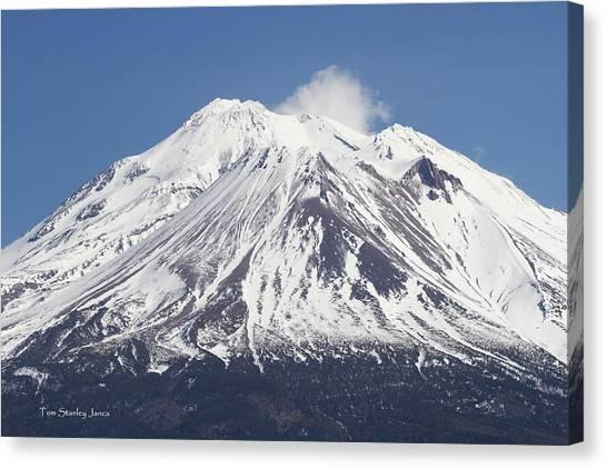 Mt Shasta California Canvas Print