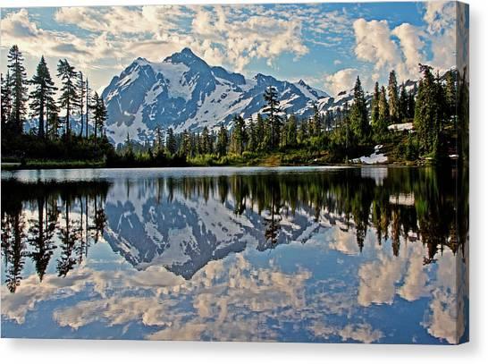 Mt. Shuksan Reflection Canvas Print