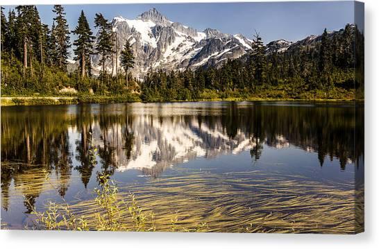 Mt Shuksan Reflection Canvas Print