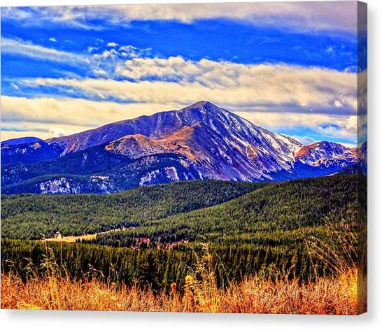 Mt. Silverheels II Canvas Print