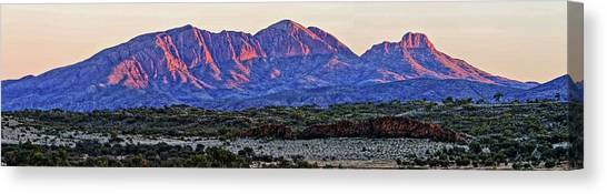 Mt Sonder Sunrise Canvas Print