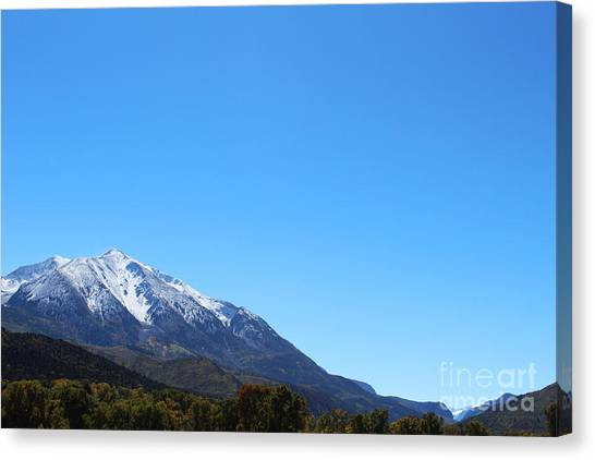 Mt. Sopris Canvas Print