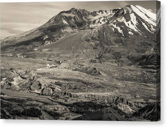 Mount St. Helens Canvas Print - Mt. St. Helens by Scott Rackers