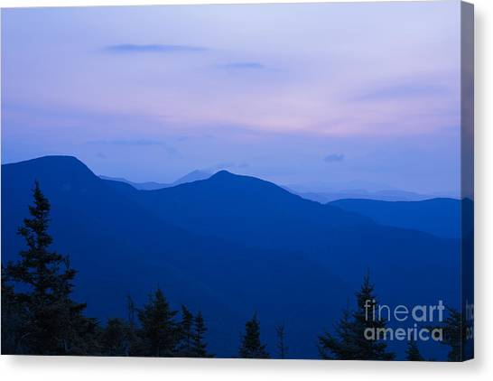 Mt Tecumseh - Waterville Valley New Hampshire Usa Canvas Print
