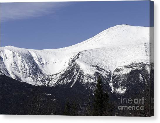 Mt Washington And Tuckerman's Ravine Canvas Print