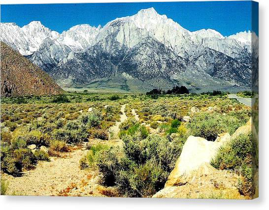 Mt Whitney Canvas Print