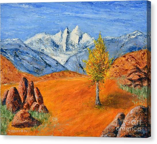 Mt. Whitney Canvas Print