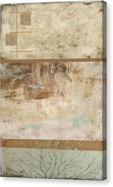 Frank Stella Canvas Print - Muddy Tree by Linda Dunn